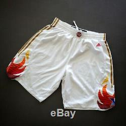 100% Authentic Adidas NBA 2009 All Star Game Shorts Size L Large Kobe Bryant