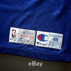 100% Authentic Patrick Ewing Champion 92 93 Knicks Game Worn Issued Jersey Used