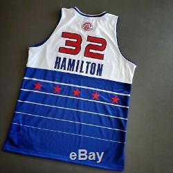 100% Authentic Richard Rip Hamilton Reebok 06 All Star Game Jersey Size 48 Mens
