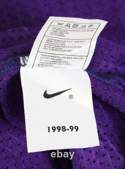 1997-98 Kobe Bryant Game Used Worn Authentic Los Angeles Lakers Jersey2 Coas
