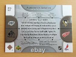 2005-06 SP Game Used Authentic Fabrics Jersey Wayne Gretzky Lemieux Yzerman 8/25