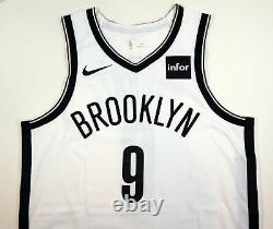 2018-19 Brooklyn Nets DeMarre Carroll #9 Game Used White Jersey vs IND 4 pts