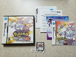 AUTHENTIC Pokemon White Version 2 (Nintendo DS, 2012) Complete in box CIB