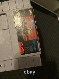 Aero Fighters (Super Nintendo Entertainment System, 1994) Authentic