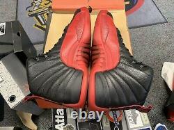 Air Jordan XII 12 Retro Flu Game Authentic Vtg Vintage Used OG NBA Bred