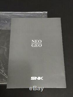 Andro Dunos Neo Geo AES US/English Version Authentic Original SNK Complete