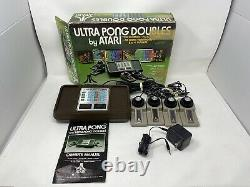 Atari Ultra Pong Doubles Video Game Console withOrig Box Authentic Tested Works