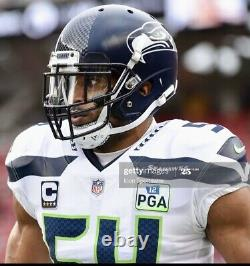 Authentic Bobby Wagner Seattle Seahawks Nike 42 Jersey GAME TEAM ISSUED pro used