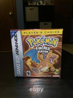 Authentic CIB Pokemon FireRed Version (Gameboy Advance, 2005) Still In Shrink