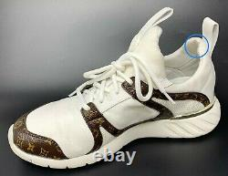 Authentic LOUIS VUITTON Monogram After Game Line Sneakers #36.5 US 5.5 Rank AB