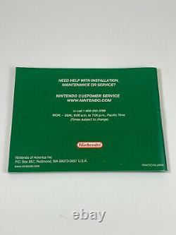 Authentic Pokemon Emerald Version Nintendo Gameboy Advance gba complete box cib