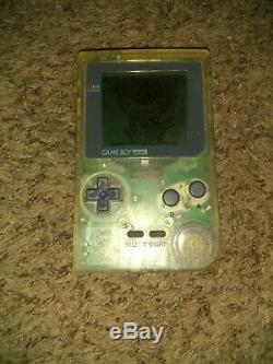 Authentic Pokemon Yellow Version Complete in Box Nintendo Gameboy pocket clear
