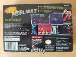 Authentic SNES Mega Man 7 Box Original Vintage