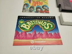 Battletoads (Nintendo NES) CIB Complete in Box TESTED Authentic
