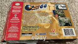 Bomberman 64 The Second Attack! (Nintendo 64 N64) Authentic BOX MANUAL & CART