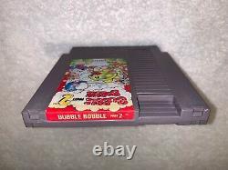 Bubble Bobble Part 2 Rainbow Islands (Nintendo NES, 1993) Authentic Tested Nice