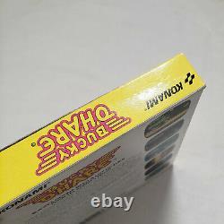 Bucky O'Hare NES AUTHENTIC Box original Nintendo GREAT Cn complete cib your game