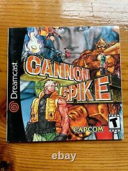 Cannon Spike (Sega Dreamcast, 2000) Authentic
