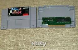 Castlevania Dracula X SNES Authentic NTSC Works Great Near Mint Rare