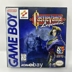 Castlevania Legends (Nintendo Game Boy) COMPLETE AUTHENTIC TESTED