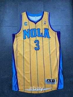 Chris Paul NBA Authentic Rev30 Game Procut Jersey Mesh Numbers Orleans Okc Kobe