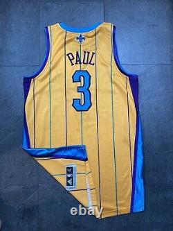 Chris Paul NBA Authentic Rev30 Game Procut Jersey Mesh Numbers Orleans Okc Kobe