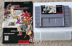 Chrono Trigger Authentic Cart & Manual Super Nintendo SNES Near Mint Collector
