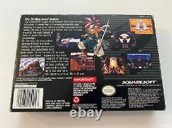 Chrono Trigger (Super Nintendo, 1995) SNES CIB Complete Authentic Tested