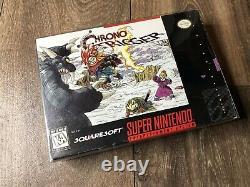 Chrono Trigger Super Nintendo SNES Authentic Box + Tray Only