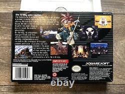 Chrono Trigger Super Nintendo SNES Authentic Box & Tray Only
