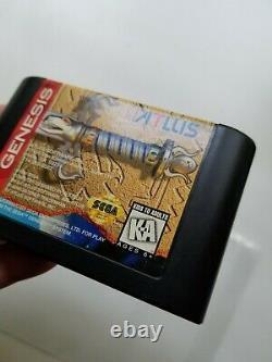 Crusader Of Centy, Sega Genesis, Authentic -Tested, Saves