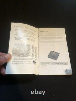 Crusader Of Centy Sega Genesis Manual Authentic Holy Sega Grail