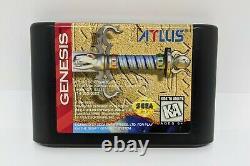 Crusader of Centy (Sega Genesis, 1994) Please Read Description AUTHENTIC