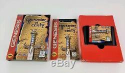 Crusader of Centy Sega Genesis Game Complete CIB Tested Works Authentic