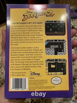 Disney's DuckTales 2 Authentic Complete Cib (Nintendo) Very Nice! NO RESERVE