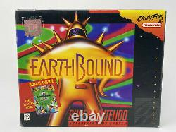 EarthBound (Nintendo SNES) COMPLETE AUTHENTIC TESTED NO STICKERS