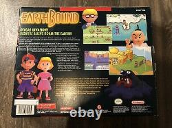 EarthBound Super Nintendo SNES Authentic CIB With Scratch Sniff