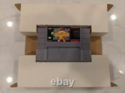 Earthbound Complete In Big Box Authentic, Great Condition, Tested (SNES)