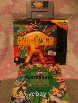 Earthbound (SNES, 1992) 100% Authentic