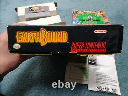 Earthbound SNES, 1992 Complete in box! Original owner, 100% authentic