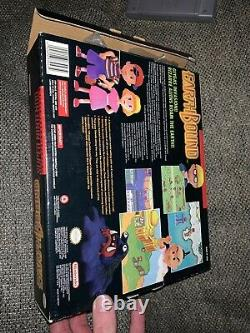 Earthbound SNES Big Box Authentic Super Nintendo 1994 Registry Game Poster