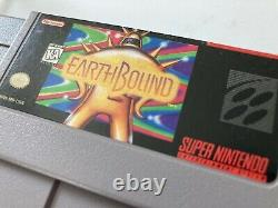 Earthbound SNES cart Authentic Comes With Hard-shell Protector
