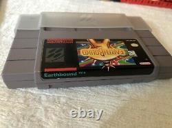 Earthbound Snes Authentic Complete Cib With Manual