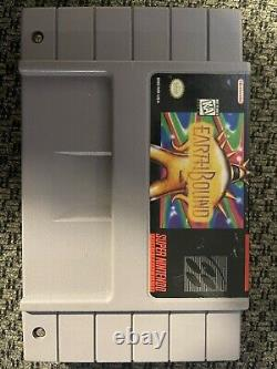 Earthbound (Super Nintendo, SNES) - Authentic Game - Tested and working