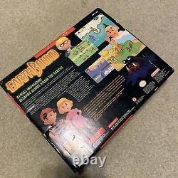 Earthbound Super Nintendo SNES Complete in Big Box CIB Authentic Earth Bound