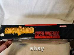 Earthbound super nintendo SNES CIB 100% Authentic very good condition. Original