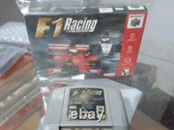 F1 Racing Championship Nintendo 64 NTSC More cutout box rental Authentic