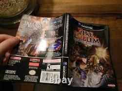 Fire Emblem Path of Radiance (Nintendo Gamecube) Authentic Tested