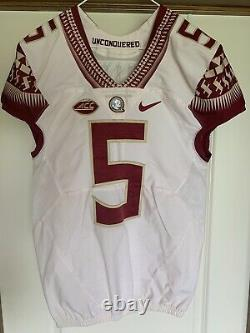 Florida State Seminoles Authentic Game Issued Used Jersey sz 38