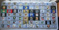 GOOD Nintendo 64 N64 Authentic Tested Retro Games Zelda Donkey Kong Mario 007